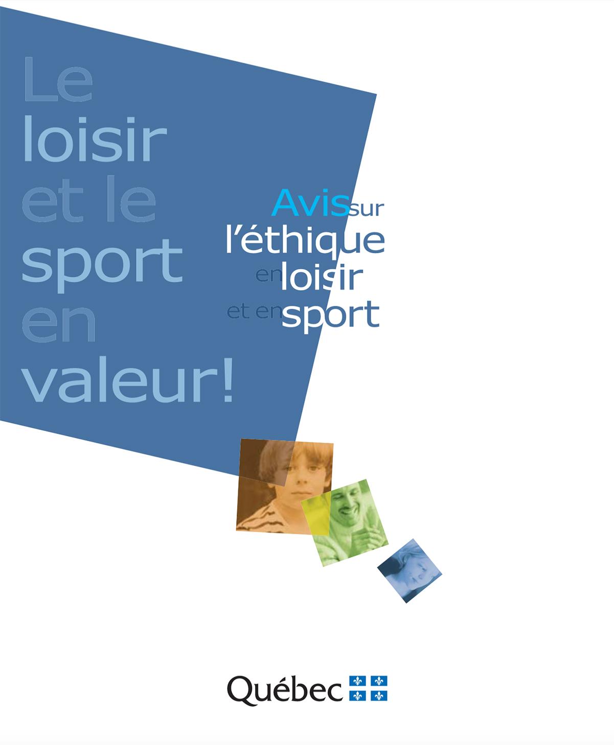 Résultats de recherche d'images pour «avis sur l'éthique en loisir et en sport»